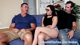 Whitney Wright gets ass fucked by older guy in front of BF AllAnal!