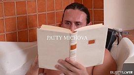 Busty Pornstar Patty Michova Gives The Most Amazing Blowjob and Footjob
