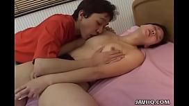 Smutty Japanese hottie enjoys being fucked hard