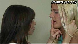 Carmen Monet caught stepmom Jenna Moore sucking off her BF