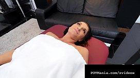 POVMania - Silvia Saige Face &amp_ Pussy Fucked By Miles Long!