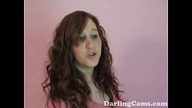 YO September Plays With Herself on Home Video DarlingCamscom