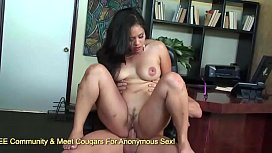 Chunky Asian MILF Jessica Bangkok Fucks With A Finger In Her Asshole