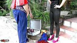 Suhaila Hard y Terry Reid La polla del Payaso