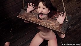 Hairy pussy trainee gets anal fucked