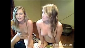 Two Hot Blonde Webcam Girls Screaming Orgasms On Sybians new