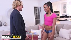 BANGBROS - Brown Bunnies Anal Scene Featuring Kira Noir and Tyler Nixon With His Dick In A Box