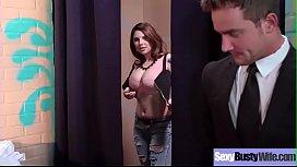 Slut Wife (Darling Danika) With Big Melon Boobs Hard Banged video-04