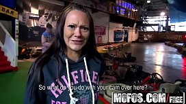 Mofos - Public Pick Ups - Rear Caught in the Headlights starring Sandy Ambrosia xxx video
