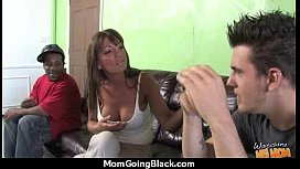 Huge Black Meat Going into Horny Mom 19