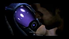 Mass Effect - Tali'Zorah and Shepard Romance - Compilation