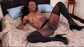 Black babe skylar taking dick good