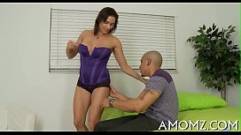 Sultry mama fucked by a sexy guy
