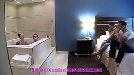 Family Hot Tub Teen Orgy
