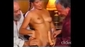 Own Daddy and his old friend seduce his daughter