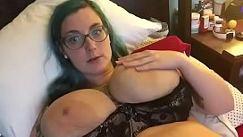 BBW Playing with his pussy and tits all his pics and vids here---&gt_ https://bit.ly/2MjYW86