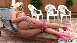 Horny chick Britney Amber gets banged hard in do tyle