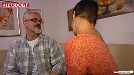 LETSDOEIT - Horny German HouseWife Cheats and Fucks Stranger