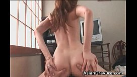 Sexy cute face asian hot body babe