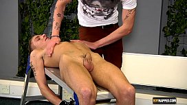 Horny Mark Henley Gets A Load