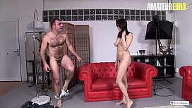 AMATEUR EURO -  Naughty Miyuki s. Pick Up And Fucks With Hairy Amateur Dude