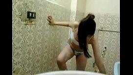 Girlfriend in shower