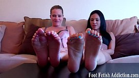 You will love worshiping our amazing feet