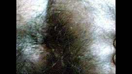 hairy indian ass closeup