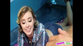 Daddy Taboo Roleplay With Pleasing StepDaughter