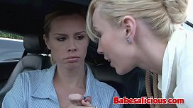 Babesalicious - Licking Pussy In The Car &amp_ Fucking Everywhere