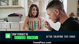 TeenPies London s First Creampie