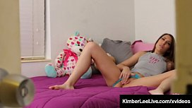 Horny Step Sis Kimber Lee Fucks Your Hard Cock Until You Cum