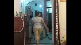 Hot Desi Indian Bhabi Shaking Her Sexi Ass Boobs On Bigo Live4