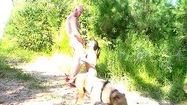 Hiking Makes MILF Horny