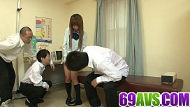 Japanese schoolgirl needs cock up her tight vag
