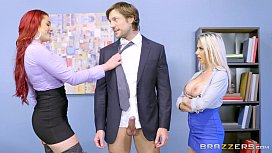 Brazzers Rachel and a share some office