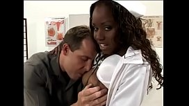 Naughty black nurse loves to suck and fuck a white dude in the clinic xvideos preview