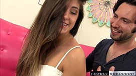 Natalie gets hard fuck from brotherinlaw and a sticky facial