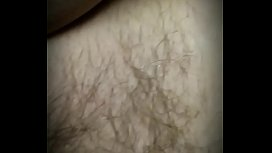 Big cock penetrating wet hairy pussy