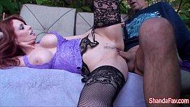 Kinky Canadian MILF Shanda Fay Gets Fucked In Her Backyard