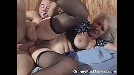 Pro 70plus granny on top pounding