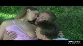 PrivateClassics.com - Tricia Deveraux in an anal Threesome