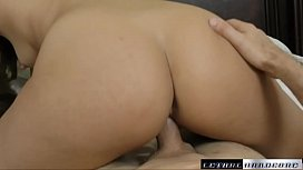 Liza gets woken up with a finger in her pussy