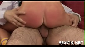Juvenile beauty is being ravished by a lusty mature stud
