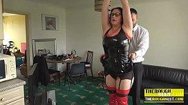 spanking a chubby m.