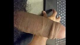 Me jacking off while watching porn cum