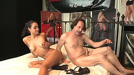 Gulliana Alexis loves big cock in her small cunt