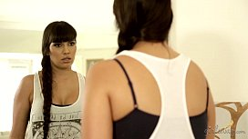 Latin maid and her dominant self! - Mercedes Carrera, Katrina Jade