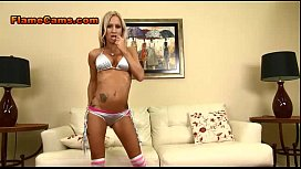 Blonde MILF Bikini Swimsuit Show xxx video