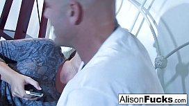 Alison and her male gigolo xxx video